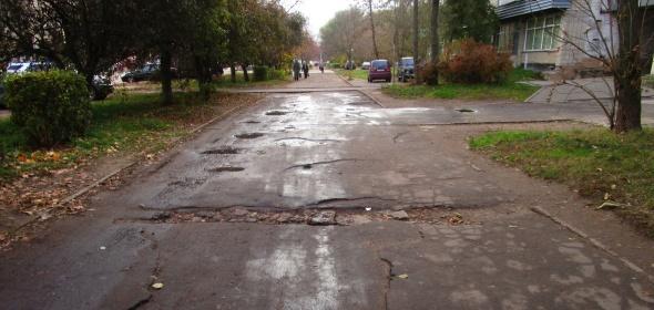 Дубна попала в статистику дорожного ремонта в числе худших муниципалитетов области