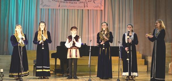 Юные музыканты Дубны увлечены музыкой барокко