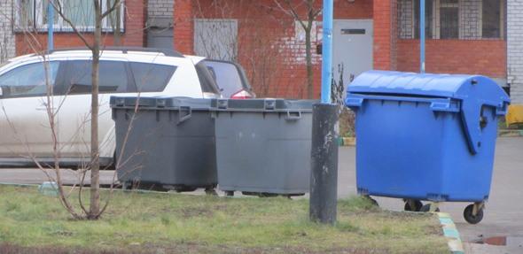 Синие контейнеры для раздельного сбора мусора возвращаются в Дубну