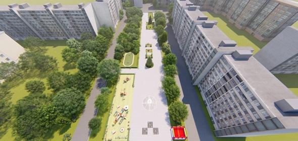 Доработана концепция благоустройства сквера имени Журавлёва