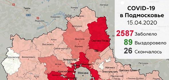 Дневник коронавируса в Дубне и Подмосковье: 15 апреля