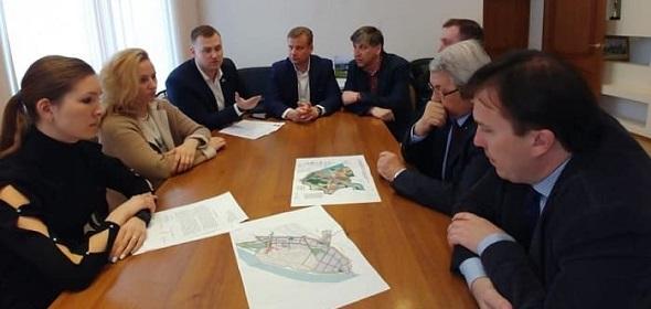 Левобережная депутатская группа рассмотрела задумку строительства таунхаусов в Дубне