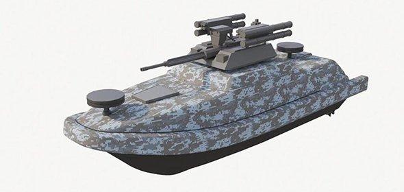 Резидент особой экономической зоны «Дубна» произвел морскую беспилотную боевую платформу