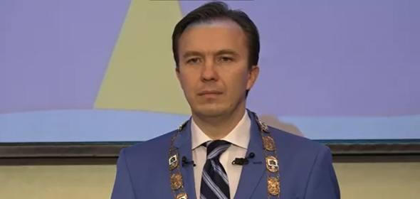 Новый глава Дубны Сергей Куликов официально вступил в должность