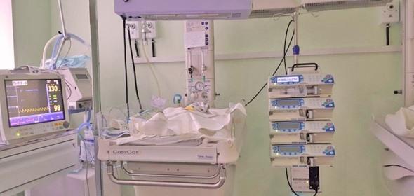 В роддоме Дубны спасли новорожденную, страдавшую во внутриутробный период