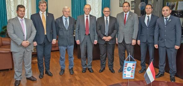 Посол Египта в Дубне провел переговоры с директором ОИЯИ академиком Виктором Матвеевым